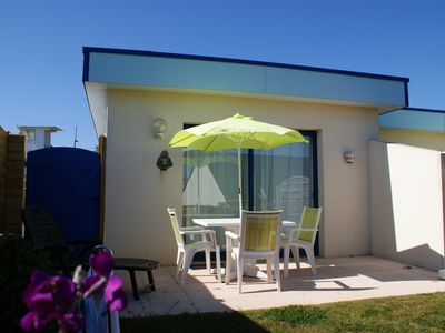 Photo for House with heated pool and 100m from the beach in Le Conquet