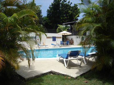 Pool deck at Golden Grove