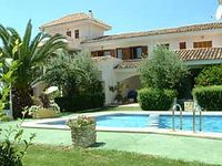 a very clean and bright villa on a very well kept and small gated development