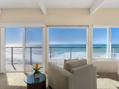 Photo for Captivating Oceanfront Vacation Rental with Direct Beach Access E016-0