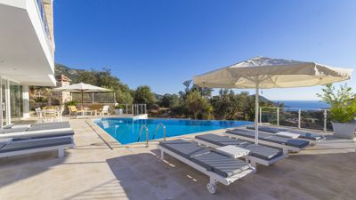 Photo for Luxury 4 Bedroom Kalkan Villa Close to Town and Shops With Sea Views
