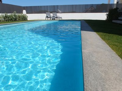 """Photo for Beautiful Villa """"Son Puxi"""" with pool just steps from the beach"""