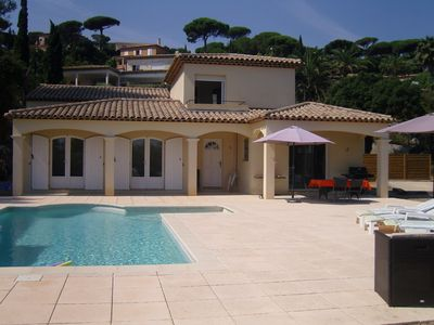 Photo for Superb recent villa near the sea in a green setting