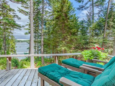 Photo for Chic Studio Cabin in Boothbay Harbor: Ocean Views, Sprucewold Beach Access