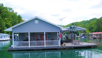 Photo for Availability for THIS SUMMER 2020!!  Beautiful Floating Home on Big Creek!