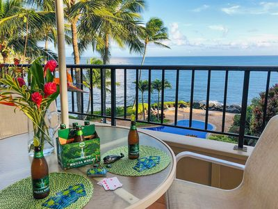 Photo for Whalers Cove 230: Oceanfront, Top Floor, Pool Access