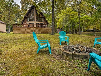 Photo for Cozy Dover Home w/Boat Dock, Fire Pit & Deck!