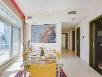 Photo for ★ Stylish Apartment with the Best Burj Views