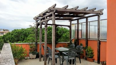 Photo for Rome: Flat with panoramic terrace and wi-fi for free