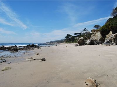 Photo for Charming, Tranquil, Bluff Top Beach Front Cottage, On Private Beach