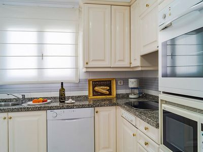 Photo for Apartment in Mijas with Parking, Internet, Washing machine, Air conditioning (87029)