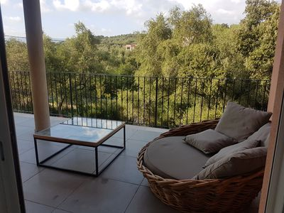 Photo for 2 bedroom apartment 200 meters from the WIFI beach, balconies, terraces,