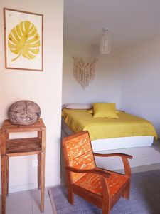Photo for Papeete, large new studio, terrace, equipped, view, wifi, air conditioning, parking.