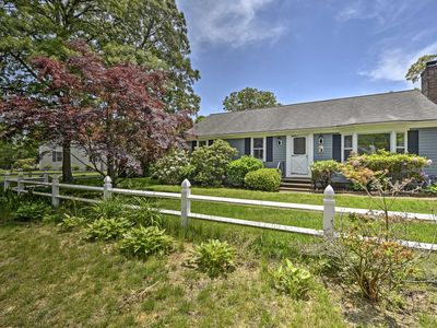 Photo for Cape Cod Home w/Patio & Fire Pit, 10 Mins to Beach