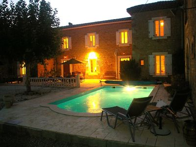 Photo for A spacious and tastefully renovated wine domaine with private pool near Carcassonne