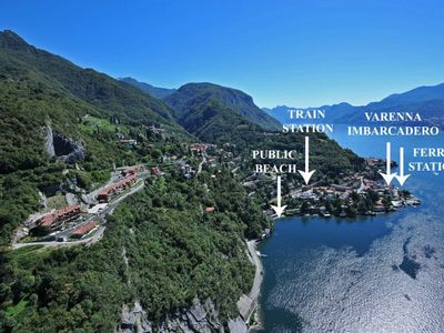 Photo for 1BR Apartment Vacation Rental in Varenna