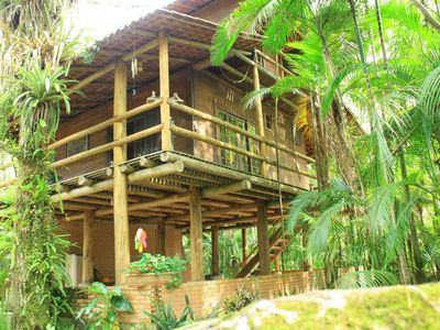 Photo for Chacara with incredible house on the edge of the river in Antonina, PR -