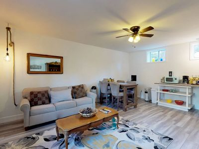 Photo for NEW LISTING! Cozy, remodeled villa w/ four separate condos - dog-friendly!