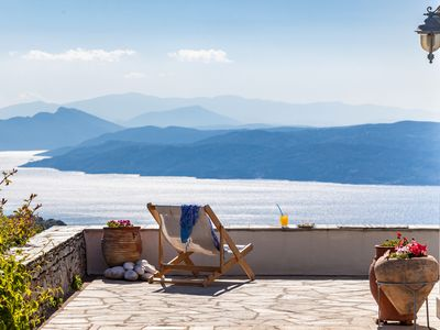 Photo for Anassa villa, Skiathos Island. Relaxation Retreat in the cosmic sounds of Gongs!