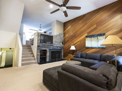 Photo for Nestled in the pines, fireplace, pool/hot tub pass, garage. Breck License# 780490001