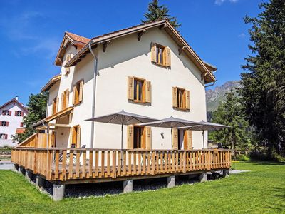 Photo for Nice apartment for 10 people with hot tub, WIFI, TV, balcony, pets allowed and parking