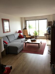 Photo for 2 rooms in high floor seen all Paris with sunny balcony. Buttes Chaumont