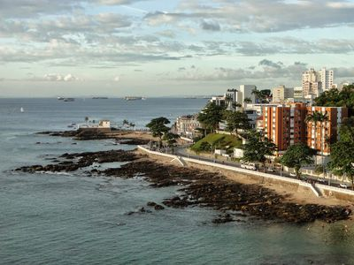 Photo for Oceanfront Condo in Barra across the street from Brazils most famous Lighthouse.