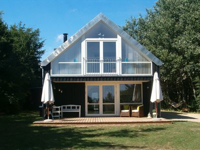 Photo for Øster Assels. 135m2 lovely 2-plan holiday house. Just 300m. to the beach.