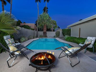 Photo for 25% off and Free Pool heat for 1st and last nights for Holiday dates!- Lush green backyard with pool near popular Kierland Commons area!