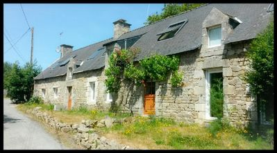 Photo for Large house near beaches with pool, Brittany, Morbihan.