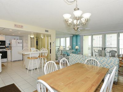 Photo for FREE DAILY ACTIVITIES! 2-bedroom, 2-bath condo located just one unit back from the oceanfront.