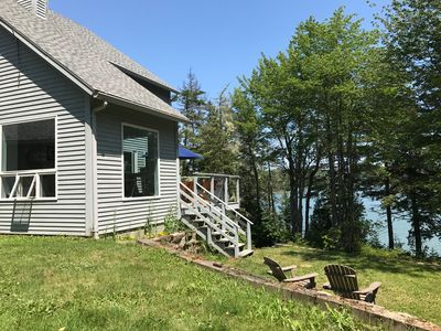 Photo for Amazing family friendly home with 200' of private oceanfront. Best location!