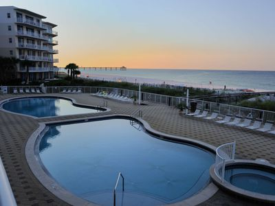 Photo for Awesome Family Beach Getaway; Magnificent Gulf Views; Elegantly Updated!