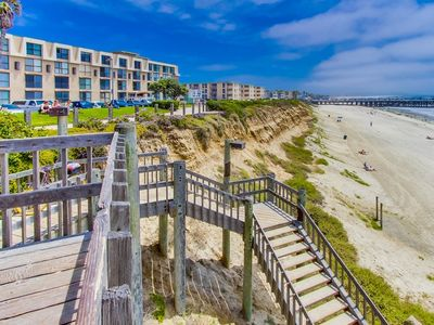 Photo for Oceanfront...Oceanfront...Oceanfront! - Steps To The Beach!  Pool, Bikes, & More
