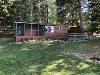 Photo for Rustic Lake Cabin Pequot Lakes MN