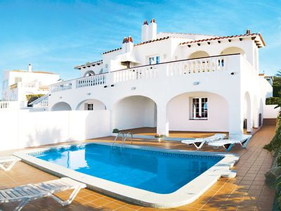 Photo for Centrally located villa close to popular resort and nice beach, with great sea-views and Wi-Fi