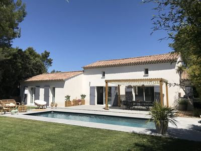 Photo for Golf Pont Royal Mallemort Aix en Provence House Swimming Pool