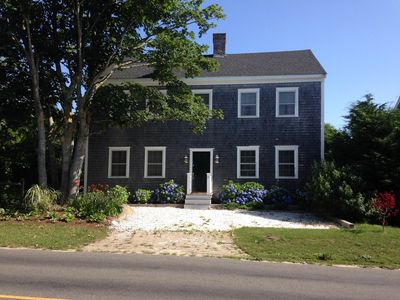 Nantucket Colonial abuts conservation land and bird sanctuary