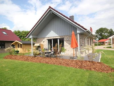 Photo for First class furnished, beach close Holiday house with terrace, sauna and fireplace