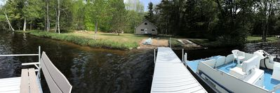 Photo for Lakeside Cabin, Pictured Rocks, 2 bdrm/1 bath sleeps 6; Snow Trails close!