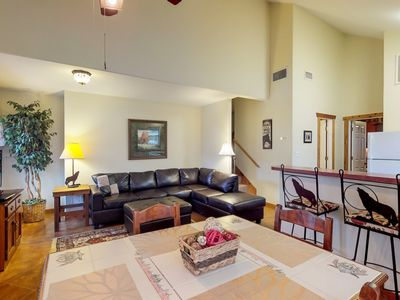 Photo for NEW LISTING! Lakefront villa with shared pool & hot tub!