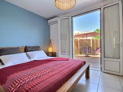 Photo for Villa Lena-pool, three air-conditioned bedrooms, near beach and market