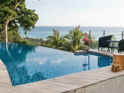 Photo for Spacious luxury villa with incredible ocean views, 5 minutes from the beach