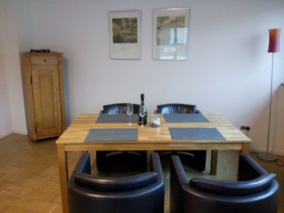Photo for New and quiet apartment in Germany's largest red wine metropolis.