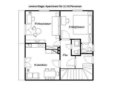 Photo for Apartment for 2 (3-4) persons 2 - Haus am Wildbach
