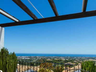 Photo for Penthouse with fantastic panoramic sea views in Los Arqueros - El Alto