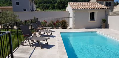 Photo for VILLA AMBRE in a small village of Provence between Avignon and Mont Ventoux