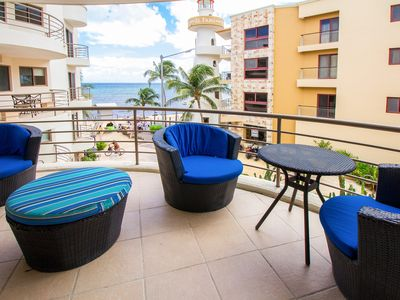 Photo for CORTO MALTES 203 ,FINE DECORATED 2 BEDROOM OCEAN VIEW