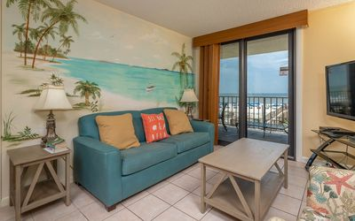 Photo for Two Bedroom Gulf Front Condo at Phoenix II