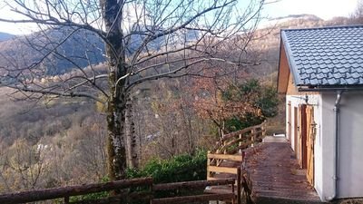 Photo for Larcat's chalet, breathtaking mountain view
